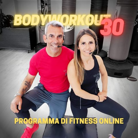 corso fitness online bodyworkout 30 luca frau training allenarsi a casa