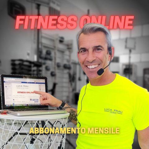 Abbonamento Luca Frau Training di Fitness Online per Allenarsi a Casa