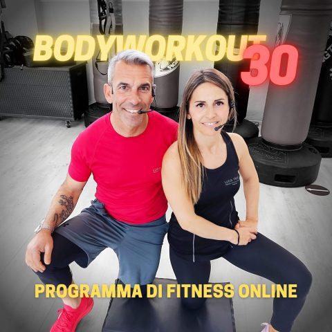 Corso Luca Frau Training di Fitness Online per Allenarsi a Casa BODYWORKOUT 30