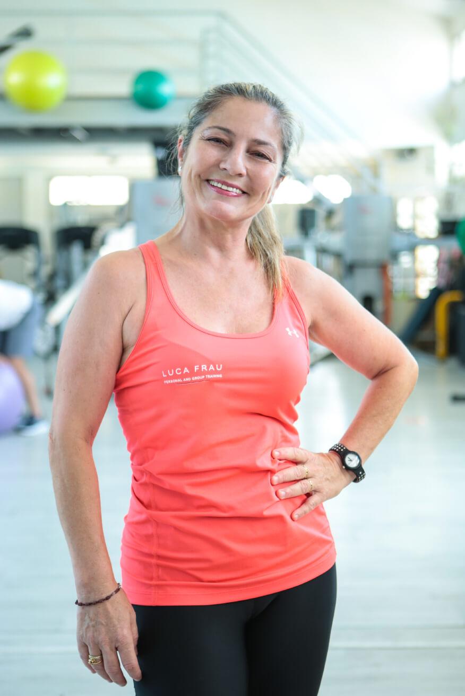 Roberta Campesi - team Luca Frau Training, palestra a Cagliari e fitness online per allenarsi a casa